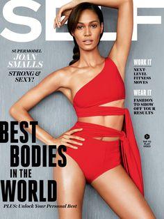 Joan Smalls Covers Self Magazine, Talks Struggle with Scoliosis