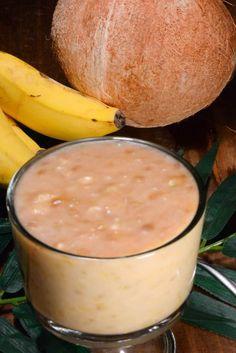 Kiribati Samoan Poi (Mashed Bananas with Coconut Cream) - International Cuisine Samoan Food, Tongan Food, Ripe Banana Recipe, Polynesian Food, Refreshing Desserts, Easy To Make Desserts, Island Food, Thinking Day, Coconut Cream
