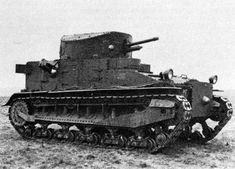 British Tanks of the Inter-war Decades - 1924 - the Vickers Medium Mk I