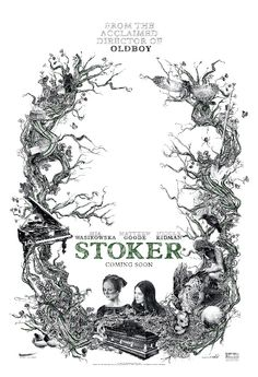 "STOKER. ""My ears hear what others cannot hear; small faraway things people cannot normally see are visible to me. These senses are the fruits of a lifetime of longing, longing to be rescued, to be completed. Just as the skirt needs the wind to billow, I'm not formed by things that are of myself alone."""
