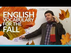 English Vocabulary: Talking about AUTUMN - YouTube