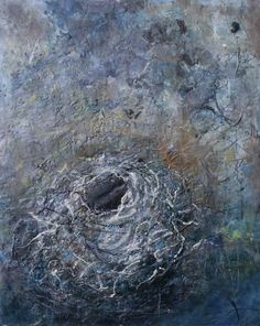 Part of my nest painting series. To see more or to signup for my art newsletter, please visit my website. 50 x 40 India Ink, Contemporary Paintings, Art Photography, Sculptures, Fine Art, Nest, Life, Artists, Website
