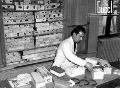 Gucci artisan, Florence workshop, 1950s