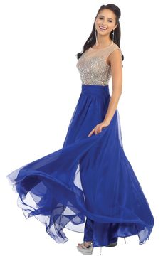 Long Prom Plus Size Formal Evening Dress