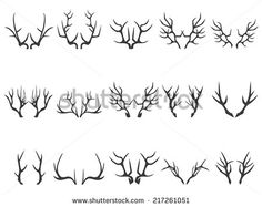 antlers vector - Google Search