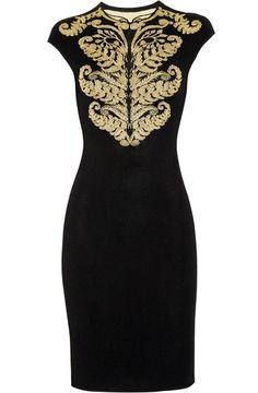 Alexander McQueen dress, $2150 | followpics.co