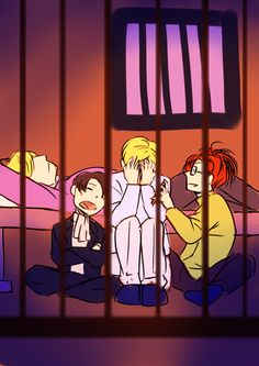 """I luv how Levi's just asleep like, """"I don't care"""" Ereri, Levihan, Levi X Eren, Armin, Levi Ackerman, Levi Squad, Attack On Titan Comic, Laughing And Crying, Cute Gay"""