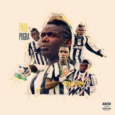 Paul Pogba, Juventus, sport, illustration, poster, graphic, social, design, football, illustration, media, AREDI, #sportaredi