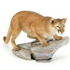 Mountain Lion Figurine