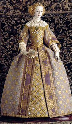 Alexandra's exquisite dolls: Queen Isabella of Portugal
