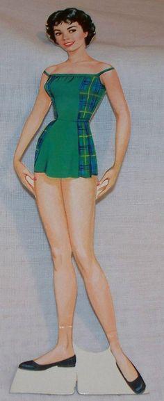 Vintage-1960 Annette Paper Dolls-Walt Disney-#1971-Whitman Pub.Co.-Cut-Original | eBay