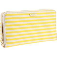 yellow stripes - Kate Spade