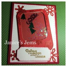 Tis the season to start posting holiday projects! So to start of the season, I tried my hand at making a couple shaker cards. Shaker Cards, Tis The Season, Christmas Cards, Seasons, Frame, Holiday, Projects, Decor, Christmas Greetings Cards