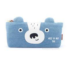 Animal Pencil Case, Cute Pencil Case, Pencil Cases, Pencil Pouch, Star Nursery, Nursery Decor, Animal Faces, Teen Fashion Outfits, Diy Ideas