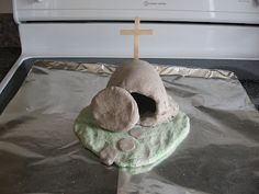 salt dough resurrection scene and good sheep activities