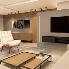 Viviendo verde minimalist living room | homify Marginata Plant, Minimalist Living, Flat Screen, Interior Design, Living Room, Green, Blood Plasma, Nest Design, Minimal Living