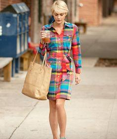 Cotton Madras #Dress #Dresses #LLBean