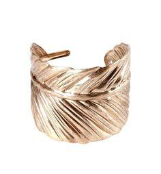 Bracelet+dorée+manchette+Femme