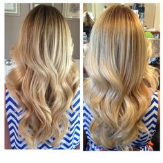 Blonde dimension Balayage Blonde ombre sombre babylights warm and cool toned blonde colormelt freehand freelights babylights hairpainting soft by Natalie Solotes