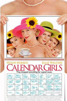 Calendar Girls; Here is a list of romance films about older couples. #romanticmovies #moviestowatch #list #grandparentsday #lovemovies #classicfilms Good Movies On Netflix, Good Movies To Watch, Movies Online, Best Movies List, Movie List, National Grandparents Day, Letters To Juliet, Age Of Adaline, British Books