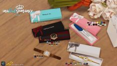 In a bad romance: Gift box: for pregnancy test and watches • Sims 4 Downloads