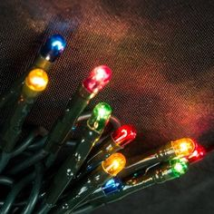 2 PACKString Lights 20 Rice Bulbs Green Wire PlugIn MultiColor * See this great product.