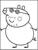 peppa pig Printable Peppa Pig Coloring Pages. Have a Joy with Peppa Pig Coloring Pages. Do your children like to color pictures? If they do, the Peppa pig coloring pages can be the right cho Peppa Pig Coloring Pages, Family Coloring Pages, Birthday Coloring Pages, Valentine Coloring Pages, Cartoon Coloring Pages, Free Printable Coloring Pages, Free Coloring Pages, Coloring Sheets