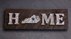 Kentucky Home String Art from Wood + Rye Co.