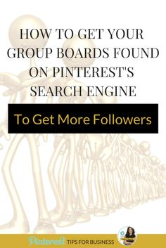 One of the other strategies to employ when growing your Pinterest followers is to make sure that your group board ranks high on the Pinterest search engine. Everything you do on Pinterest is about getting found on Pinterest's search engine. Learn how my group board ranks number 1 on Pinterest's search engine! http://www.whiteglovesocialmedia.com/how-to-get-your-group-boards-found-on-pinterests-search-engine-to-get-more-followers/ | Pinterest tips for business by Pinterest expert Anna Bennett