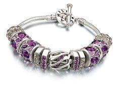 Prple Chamilia bracelet