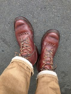White's packer boots