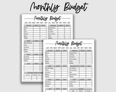 Weekly Budget Template for Two Incomes Weekly Expense Log | Etsy Family Budget Planner, Monthly Budget Sheet, Weekly Budget Template, Monthly Budget Printable, Budget Sheets, Excel Budget, Printable Planner, Expense Tracker, Financial Planner