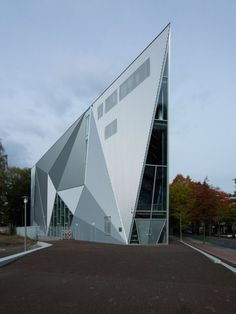 The Sovereign Pop Venue  Hilversum, Netherlands  Designed byde Architekten Cie.