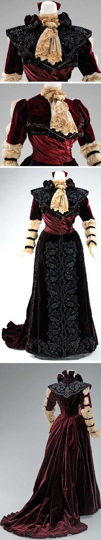 Dress, American, 1890