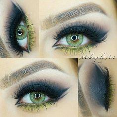 @mikasabeauty - @makeupbyani is using Beauty Brushes, Mikasa, Eye Makeup, Eyes, Instagram, Makeup Eyes, Eye Make Up, Cat Eyes, Make Up Looks