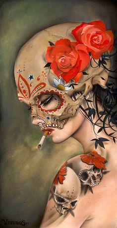 Brian M. Viveros | Digital Art | Tattoo Style