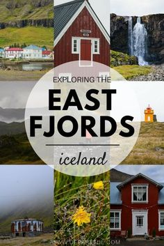 Jagged peninsulas stretch out from the coast, winding roads traverse the dramatic and rugged landscape of the East Fjords, while quaint coastal towns pop up every so often | iceland travel tips, iceland travel destinations, things to do in iceland, east i