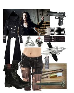"""""""Vampire hunter"""" by deadly-inspiration ❤ liked on Polyvore featuring Kasun, Soda, women's clothing, women's fashion, women, female, woman, misses and juniors"""