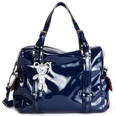 Il Tutto Nico changing bag is classy & edgy & designed with luxury in mind to be your handbag for baby! Available to buy: http://www.rosebudbaby.co.uk/tutto-nico-baby-navy-p-1512.html#.UbnNULSfdz8 #luxury #babybag #Nico #navy #IlTutto