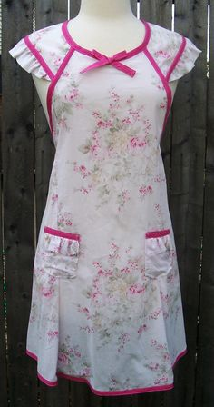 Pink Roses Apron