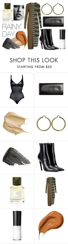 """Sin título #108"" by mayra-275 on Polyvore featuring Wolford, Maison Margiela, GlamGlow, Wander Beauty, Balenciaga, Cire Trudon, David Jones y Bobbi Brown Cosmetics"