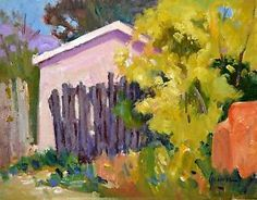 Welcome to the art of Susan Greaves, a world of color and light ! Fence Gate, Fences, Southwestern Art, World Of Color, Humane Society, New Art, Still Life, Sunday, Ebay Listing