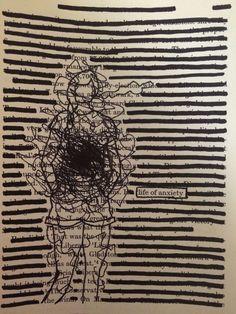Book page art diy doodles 17 Super ideas Blackout Poetry, Book Page Art, Book Pages, Art Sketches, Art Drawings, Found Poetry, Poetry Art, Poetry Quotes, Quotes Quotes