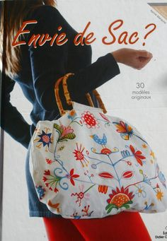 REVISTAS DE MANUALIDADES GRATIS: Sac...revista de diseño de bolsos