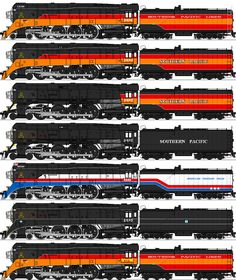 Southern Pacific Class by omega-steam