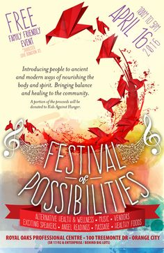 Festival of Possibilities – Bringing Balance & Healing to the Community