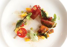 Tomato Salad from The Asbury- Best Salads in Charlotte, NC