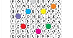 krzyżówki z kodem Word Search, Words, Fotografia, Horse