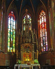 Church of St. Francis - Stained glass-Stanisław Wyspiański