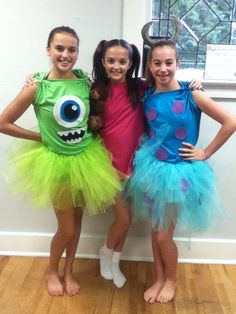 Easy Last Minute Halloween Costume Ideas For Girls - Monsters Inc